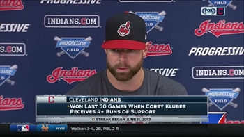 Corey Kluber credits a 'relentless' Astros lineup