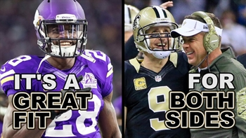 Is Peterson to the Saints the best free agent signing of 2017?