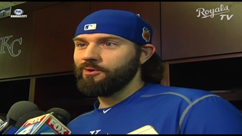 Jason Hammel is loving all things Kansas City