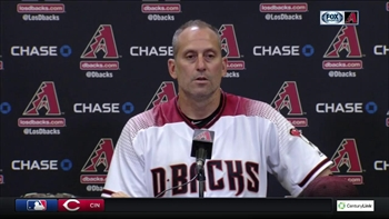 Torey Lovullo on pulling Zack Greinke: We've got to remember it's May.