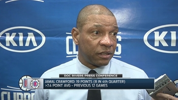 Doc Rivers postgame: 'Both of our guards tonight were unbelievable'