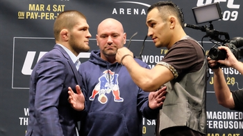 Khabib Numragomedov wants to break Tony Ferguson's arm