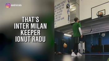 Inter Milan keeper nails a trick shot