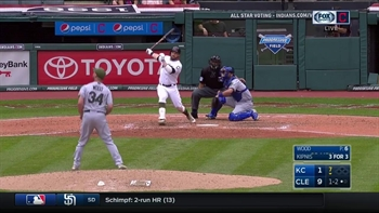 HIGHLIGHT: Kipnis caps off 4-for-4 afternoon with towering blast to right