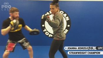 Joanna Jedrzejczyk Fight Announcement | PROcast