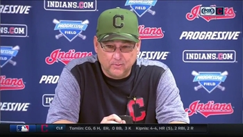 Indians skipper Terry Francona commends Josh Tomlin, offense: 'We needed that'