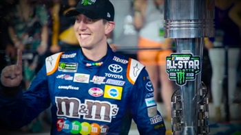Kyle Busch 1-on-1 with Kaitlyn Vincie I NASCAR RACEDAY