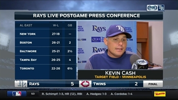 Kevin Cash on Archer: That's as good as you'll see a pitcher throw