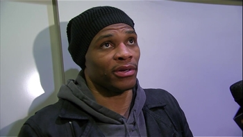 Russell Westbrook: 'I just play'