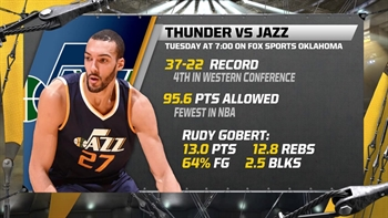 Thunder Live: Utah Jazz coming to OKC next