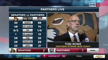 Tom Rowe: We're going through an unlucky stretch