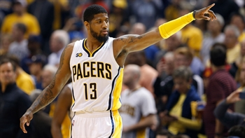 Pritchard on Paul George talk: 'In every scenario, he talked about being here'