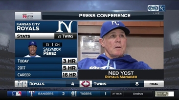 Yost says Kennedy was 'out of whack' during start