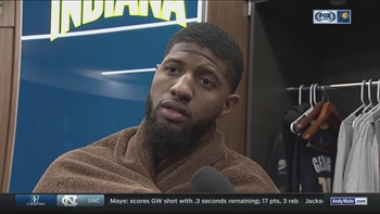 PG13 on Pacers' injuries, facing T-Wolves next