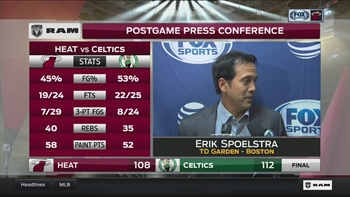 Erik Spoelstra: They just made more plays than us