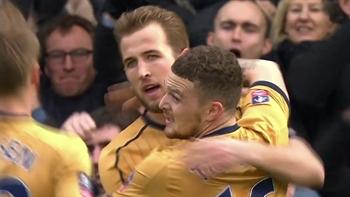 Fulham vs. Tottenham Hotspur | 2016-17 FA Cup Highlights