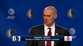 Rick Carlisle on Mavs defeating pacers 111-103