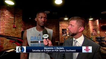 Dorian Finney-Smith talks 111-103 win over Pacers