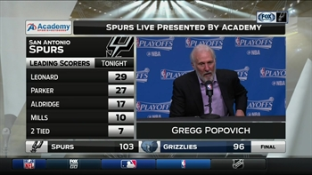 Gregg Popovich: 'People are hungry, people want to win'