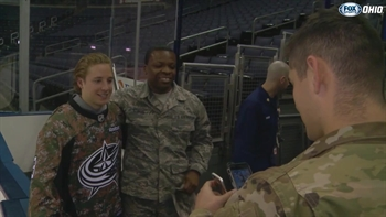 Blue Jackets' Cam Atkinson gives back to local USO