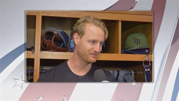 Rays' Alex Cobb reflects on the importance of Memorial Day