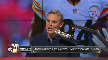 Antonio Brown gets $68M extension from the Steelers - Colin reacts | THE HERD