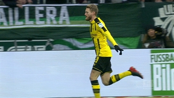 Schurrle rounds the keeper to put Dortmund in front | 2016-17 Bundesliga Highlights