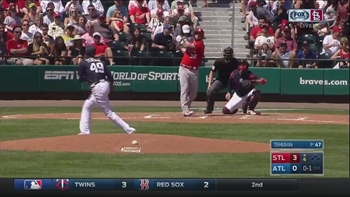 HIGHLIGHTS: Adams homers as Cardinals defeat Braves