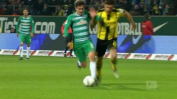 Fin Bartels equalizes for Bremen with great run | 2016-17 Bundesliga Highlights