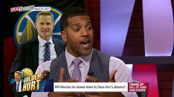 Will Warriors be slowed down by Steve Kerr's absence?   SPEAK FOR YOURSELF