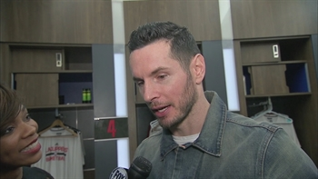 JJ Redick postgame:  One of the best games I've seen Blake play