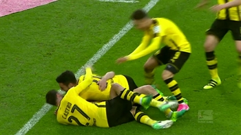 Mönchengladbach vs. Dortmund | 2016-17 Bundesliga Highlights