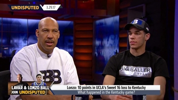 Did Lonzo Ball's family missing the Kentucky game contribute to UCLA's loss? | UNDISPUTED
