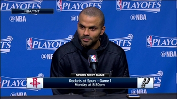 Tony Parker on being agressive in Game 6 win