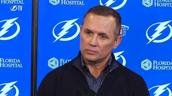 Lightning GM Steve Yzerman preaches defense at end of season presser (Part 1 of 2)
