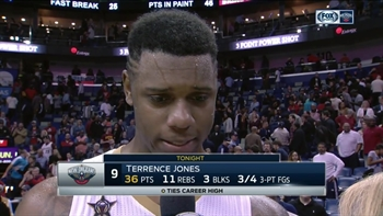 Terrance Jones on 'team win' over defending champs