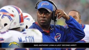 Chargers hire Anthony Lynn as head coach, who certainly wasn't their top choice