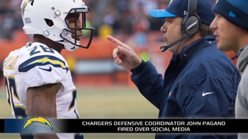 John Pagano found out he was fired by the Chargers via Twitter