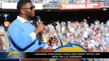 Chargers are trying to keep San Diego's support by hiring LaDainian Tomlinson