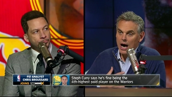 Steph Curry totally fine being the Warriors 4th highest paid player | THE HERD