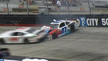 David Starr Clips Ray Black Jr. at Bristol | 2017 XFINITY SERIES | FOX NASCAR