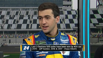 Chase Elliott Interview at Daytona Media Day | NASCAR RACE HUB