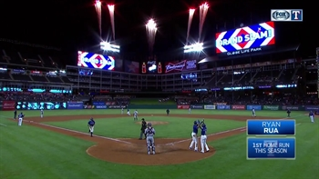 HIGHLIGHTS: Ryan Rua hits grand slam against Twins