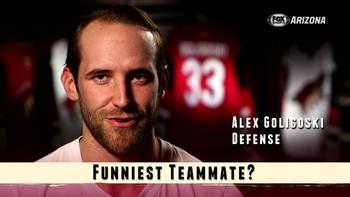 Coyotes Ice Breaker: Funniest teammate