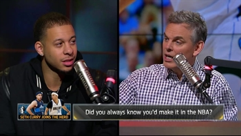 Seth Curry details his journey to the NBA | THE HERD (FULL INTERVIEW)