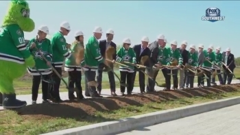 Stars Insider: Mansfield Stars Center groundbreaking