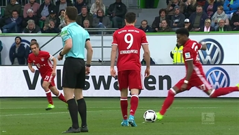 VfL Wolfsburg vs. Bayern Munich | 2016-17 Bundesliga Highlights
