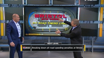 Breaking Down Pit Road Timing Lines at Bristol | NASCAR RACE HUB