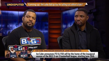 Ice Cube names his ideal 3-on-3 basketball team | UNDISPUTED