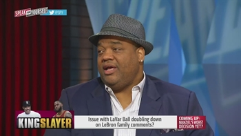 LaVar Ball doubles down on LeBron James' family comments | SPEAK FOR YOURSELF